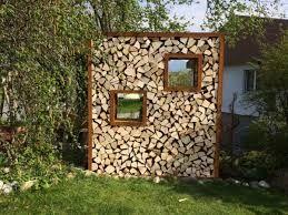 Resultat De Recherche D Images Pour Sichtschutz Mit Brennholz Brennholz Sichtschutzwand Garten Hinterhof Haus