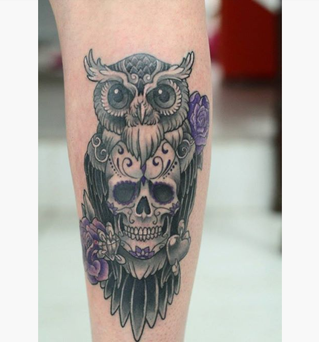 Owl Tattoos Designs Ideas And Meaning: 12 Amazing Owl Tattoos Ideas