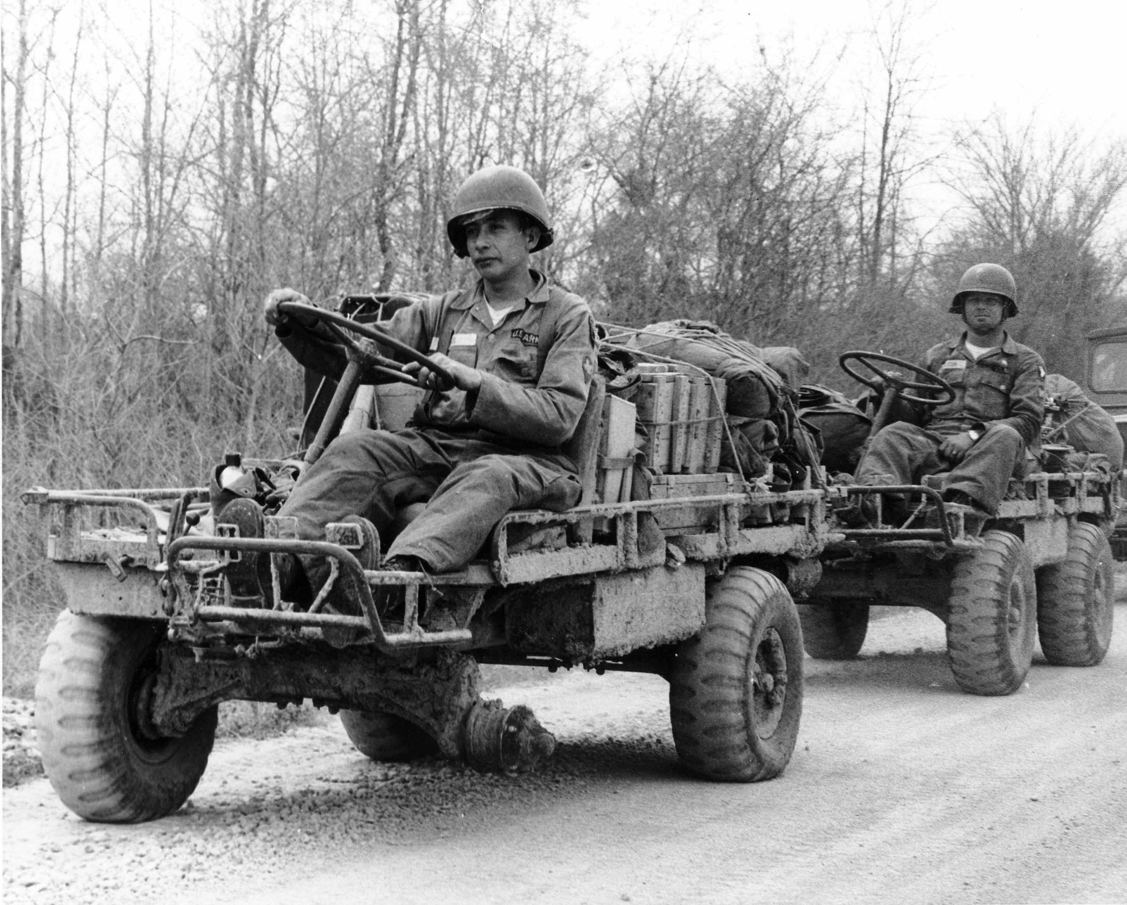 Jeep M274 Mechanical Mule - some say it's the grand-daddy of