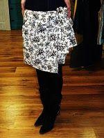 mens shirt turned skirt diy