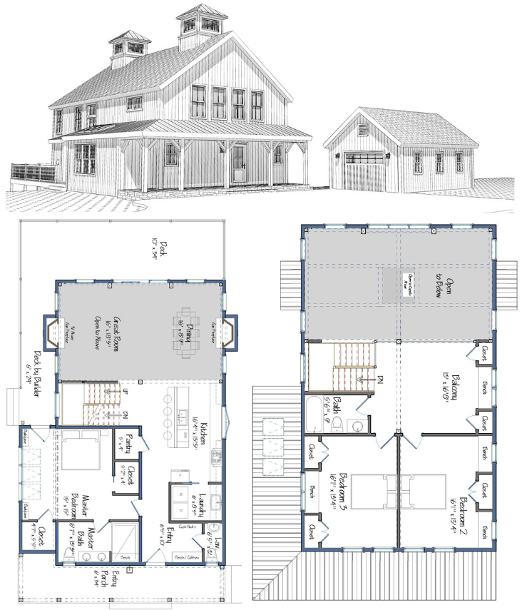 Springfield Barn Home Projecthome2019 Barn Homes Floor Plans Barn House Plans Pole Barn House Plans