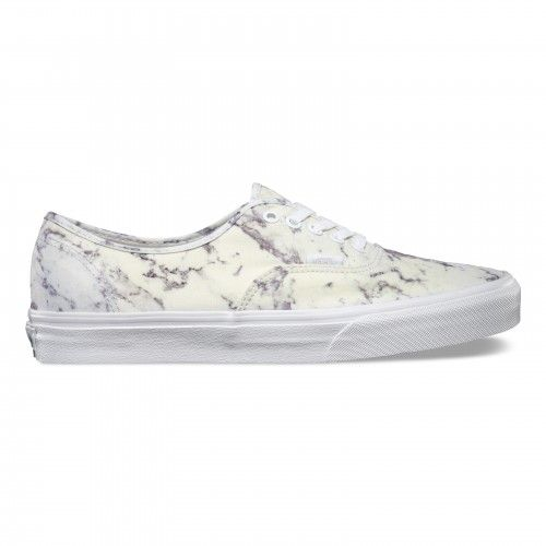 Vans Authentic Shoes Marble True White Vans Europe