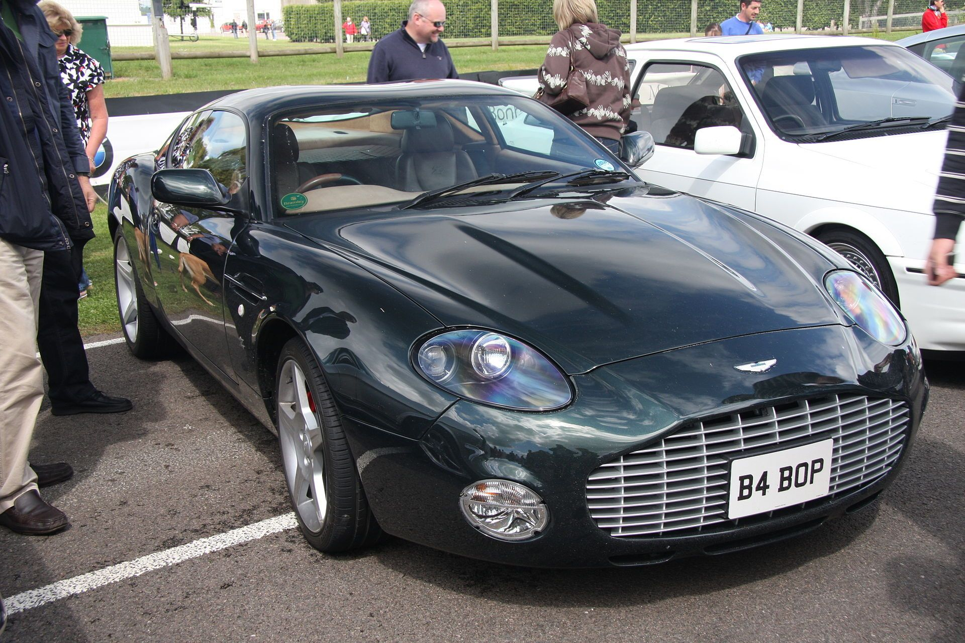 AstonMartinDB7VantageZagato - Aston Martin DB7 — Wikipédia