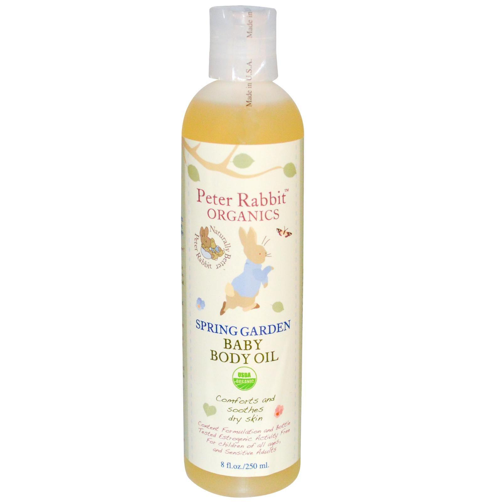 Peter Rabbit Baby Body Oil Daughter Peter Rabbit Organics