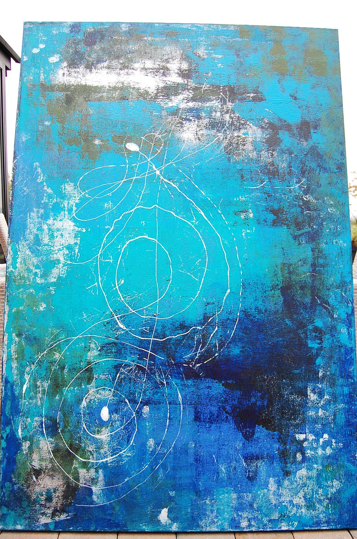 Acrylmalerei auf leinwand weihnachten pinterest - Acrylmalerei ideen ...