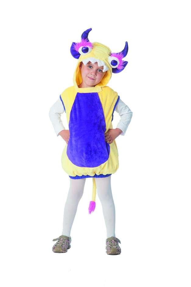 freches Monster Kostüm für Kinder zu Fasching