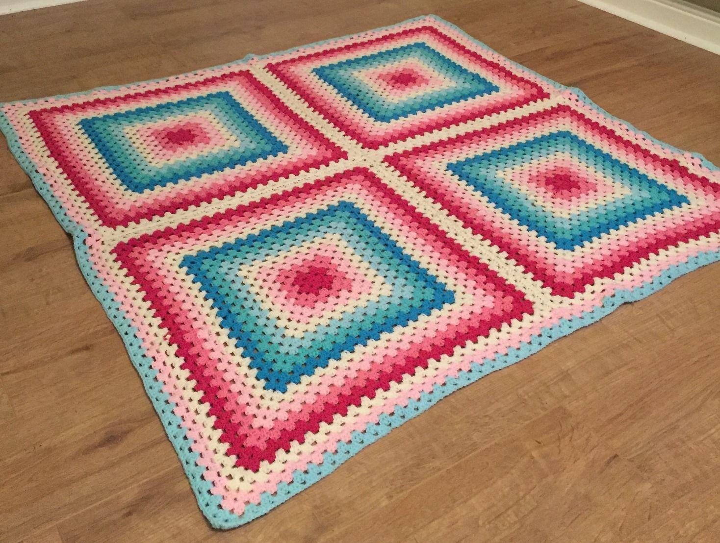 lesley_icecream blanket | crochet patterns | Pinterest