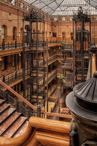 Bradbury building los angeles ca history - Interior design companies los angeles ...