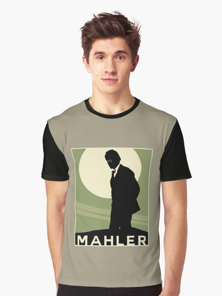 Mahler 4 | Graphic T-Shirt in 2019 | music mug | Mens tops