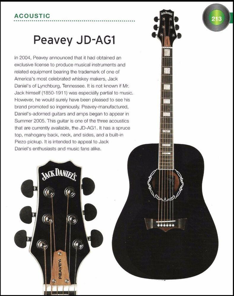 The Peavey Jack Daniel S Jd Ag1 Acoustic Jd Exp Electric Guitar 6 X 8 Article Peavey Guitar Peavey Semi Acoustic Guitar