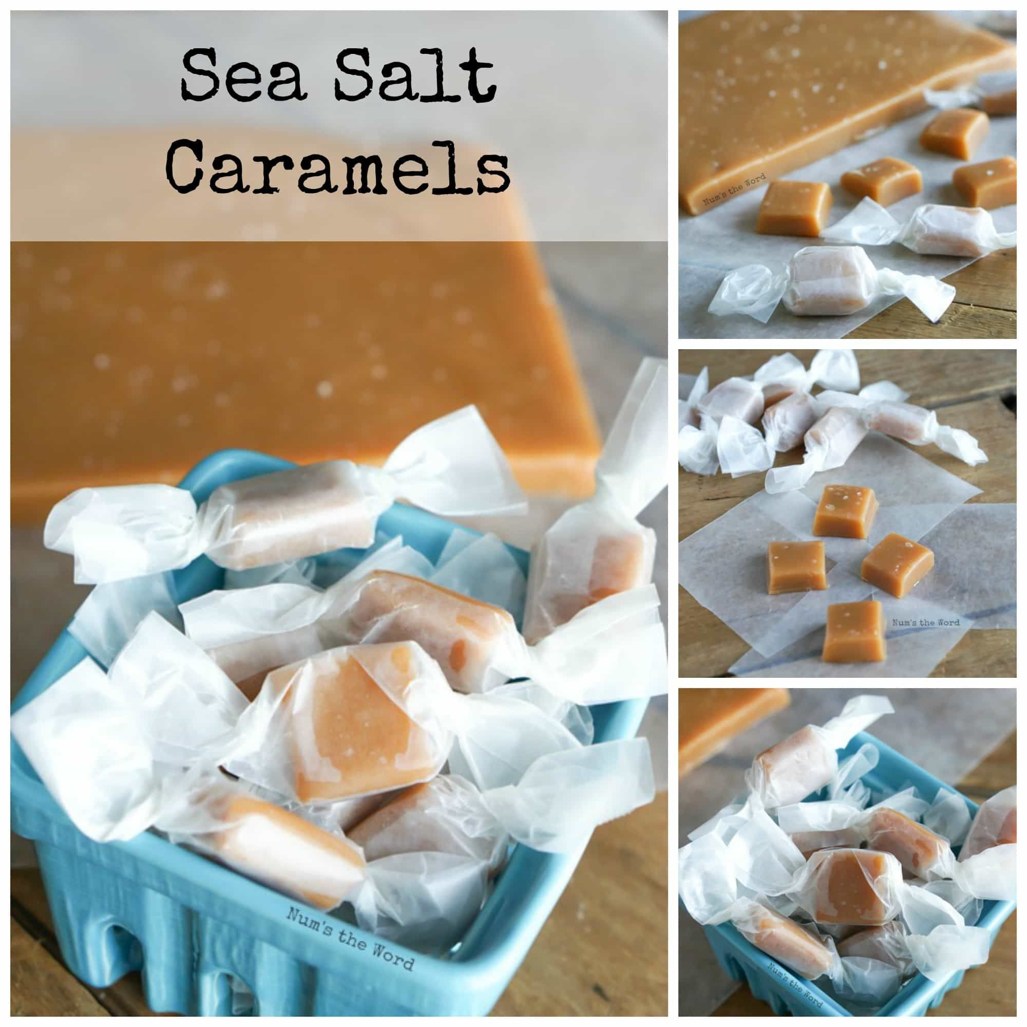 These Sea Salt Caramels are THE BEST CARAMELS ever. Rave