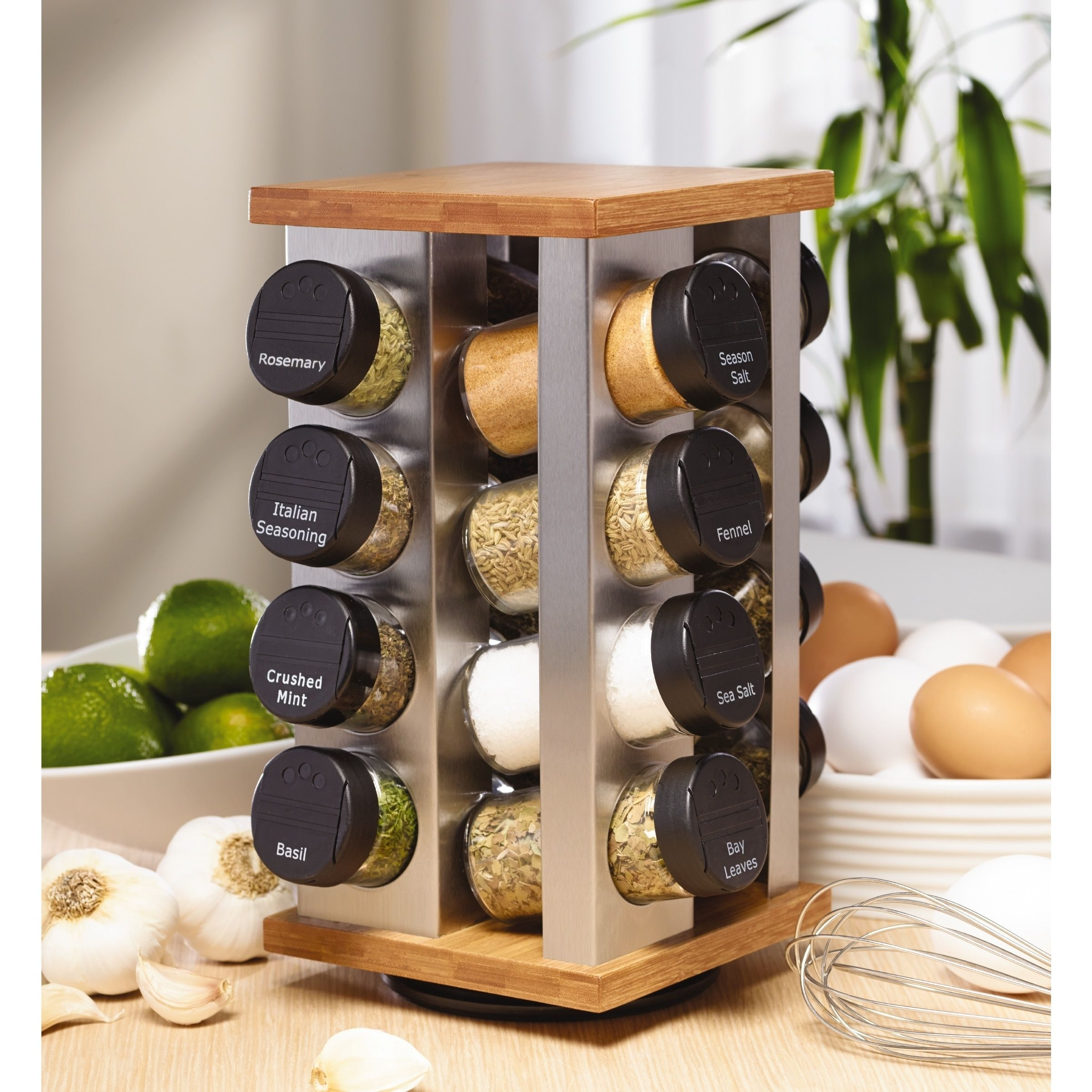 Charming Explore Revolving Spice Rack And More!