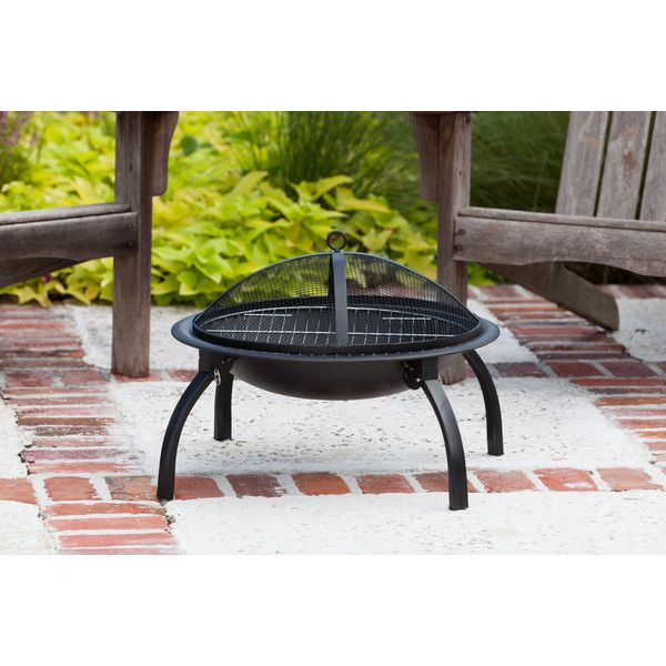 Brookdale Steel Wood Burning Fire pit Fogatas, Chimeneas y