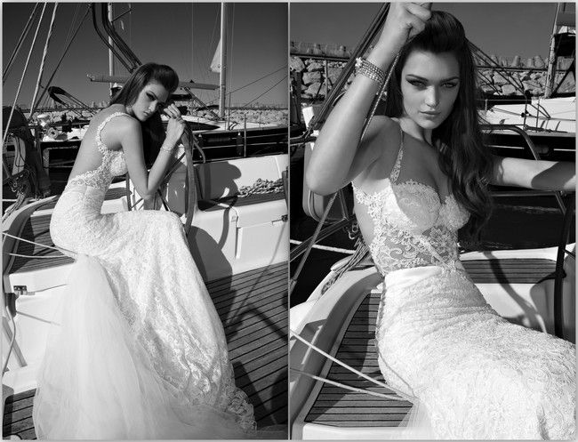 9 Sexy Backless Wedding Dresses & Gowns {2013} - Sexy, Bruiloft en ...