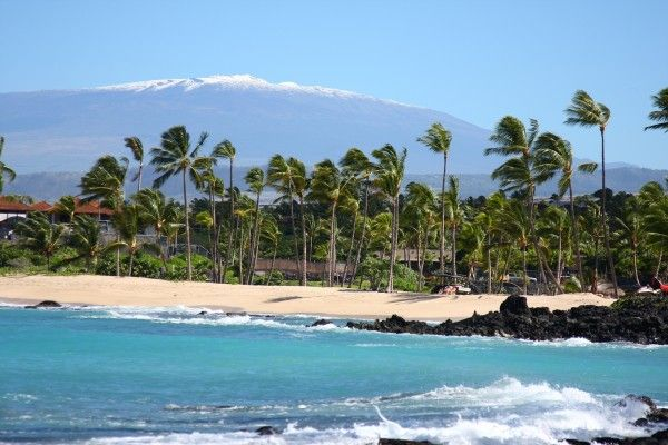 Big Island Hawaii Beach Photo