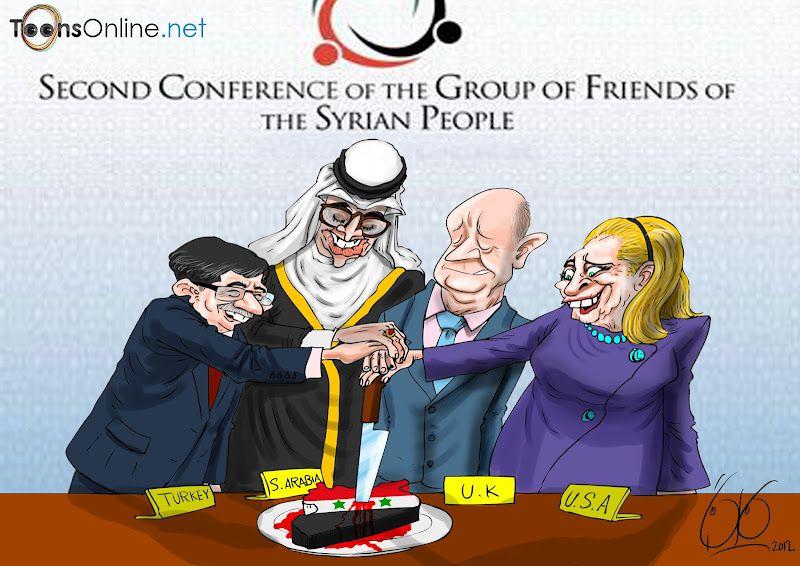 Image result for SYRIA false flag CARTOON