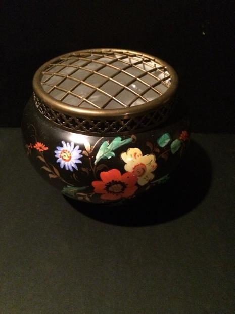 Floral Frog porcelain made in England