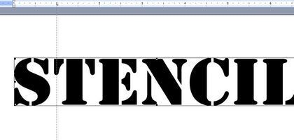 How to Make Stencils With Microsoft Word | Microsoft word ...
