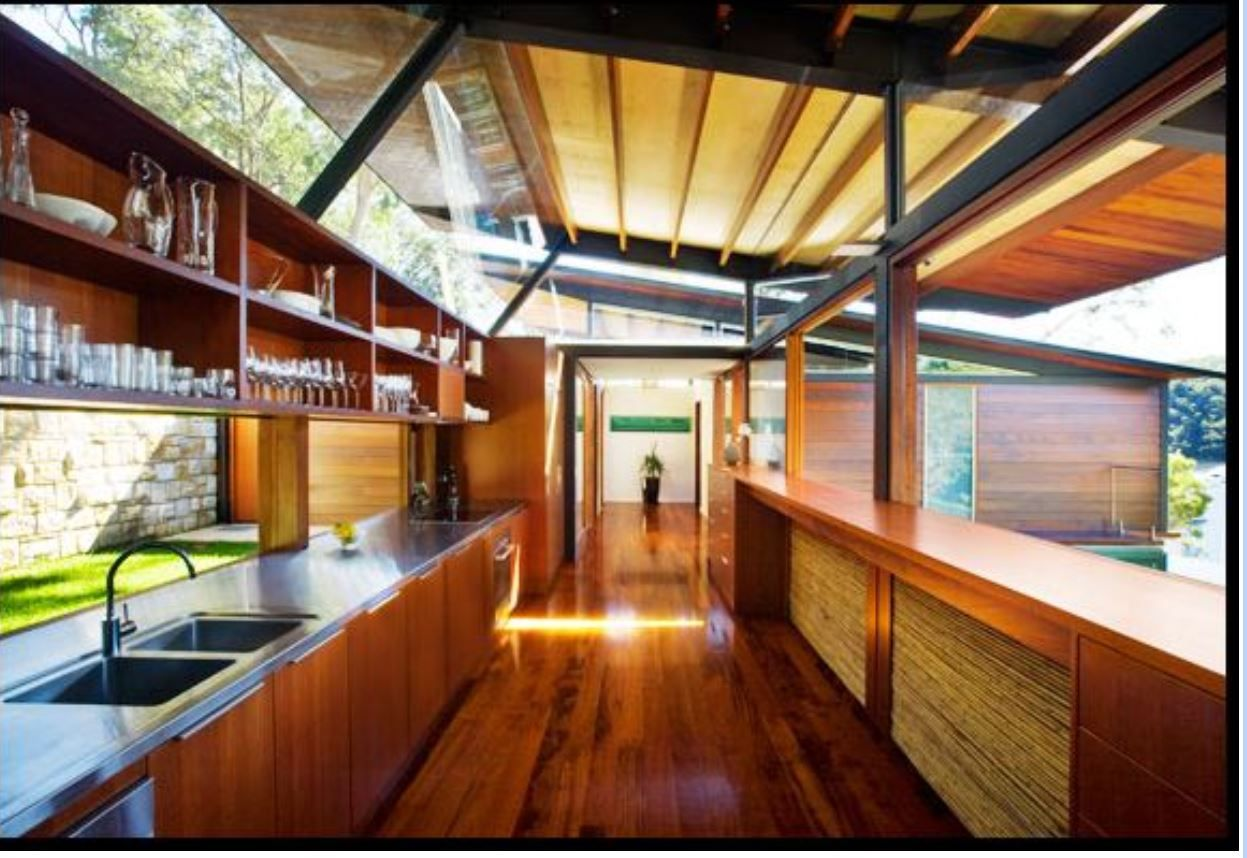 Overhead Windows Grand Designs Australia Cottage Point House  # Gadsden Muebles