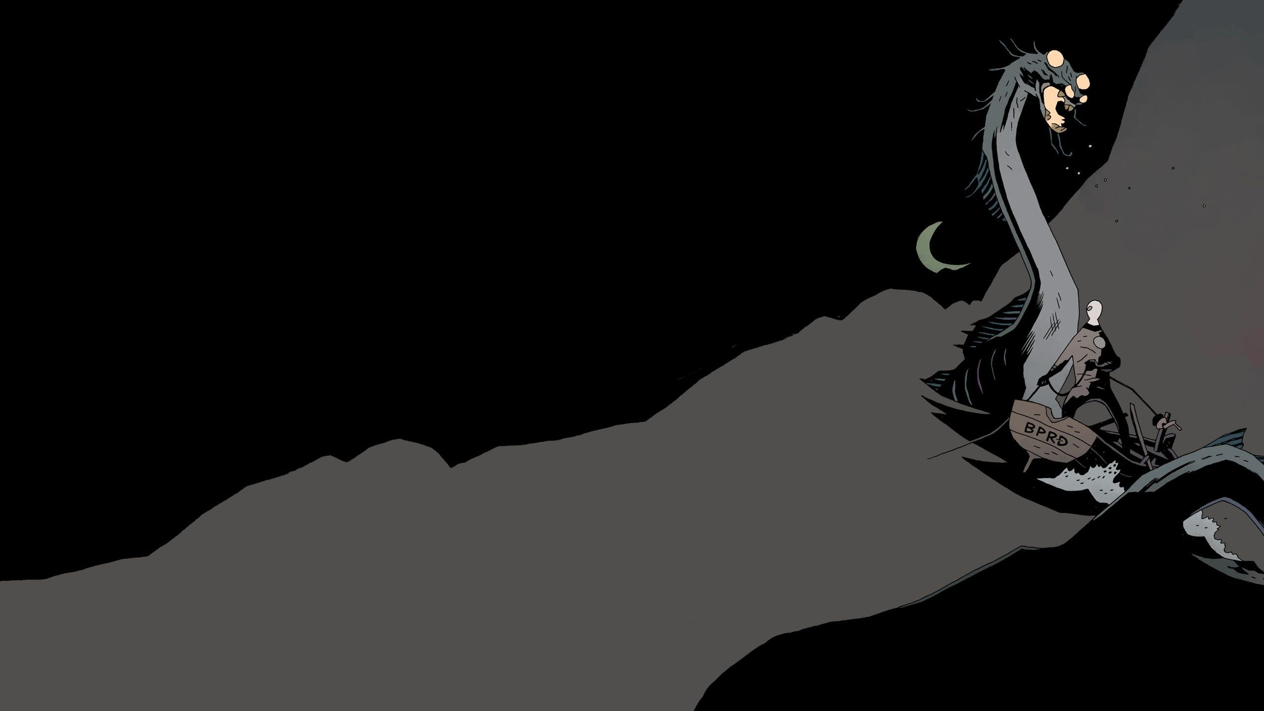 2560x1440 high resolution wallpapers widescreen hellboy