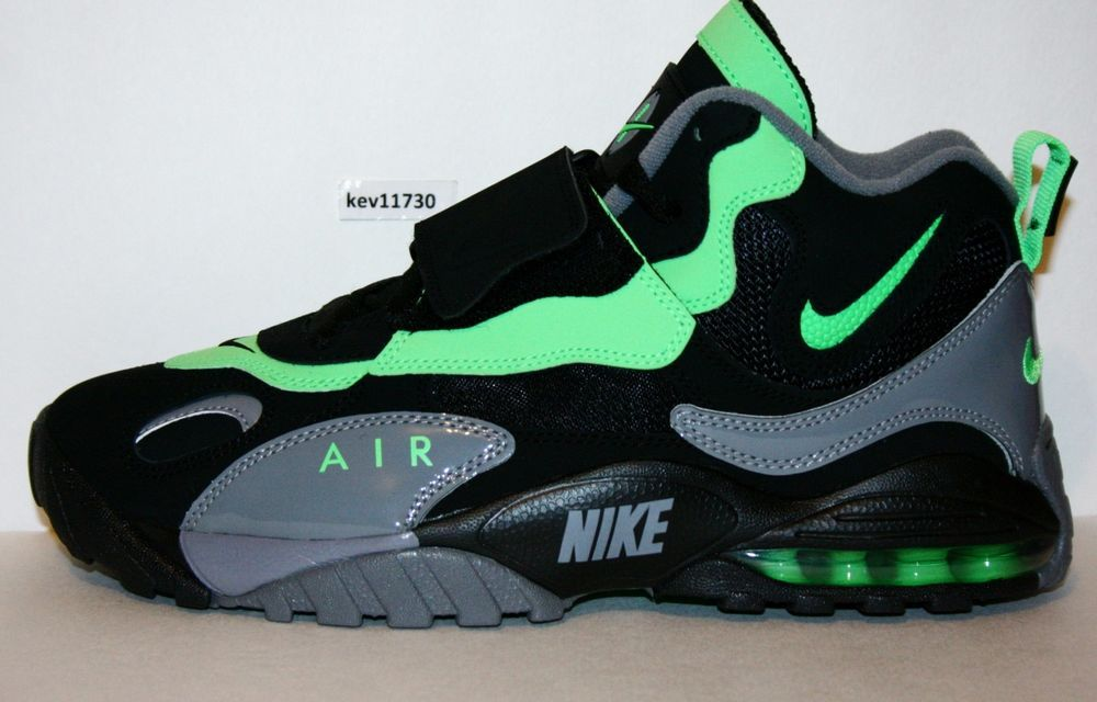 low priced 5d234 292d1 AUTHENTIC NIKE Air Max Speed Turf Poison Green Black Gey  525225 030 Men sz