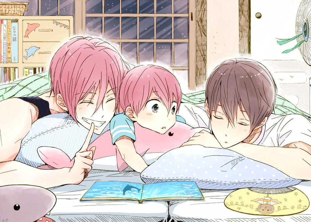 Parents Haru and Rin  Free! - Iwatobi Swim Club, free