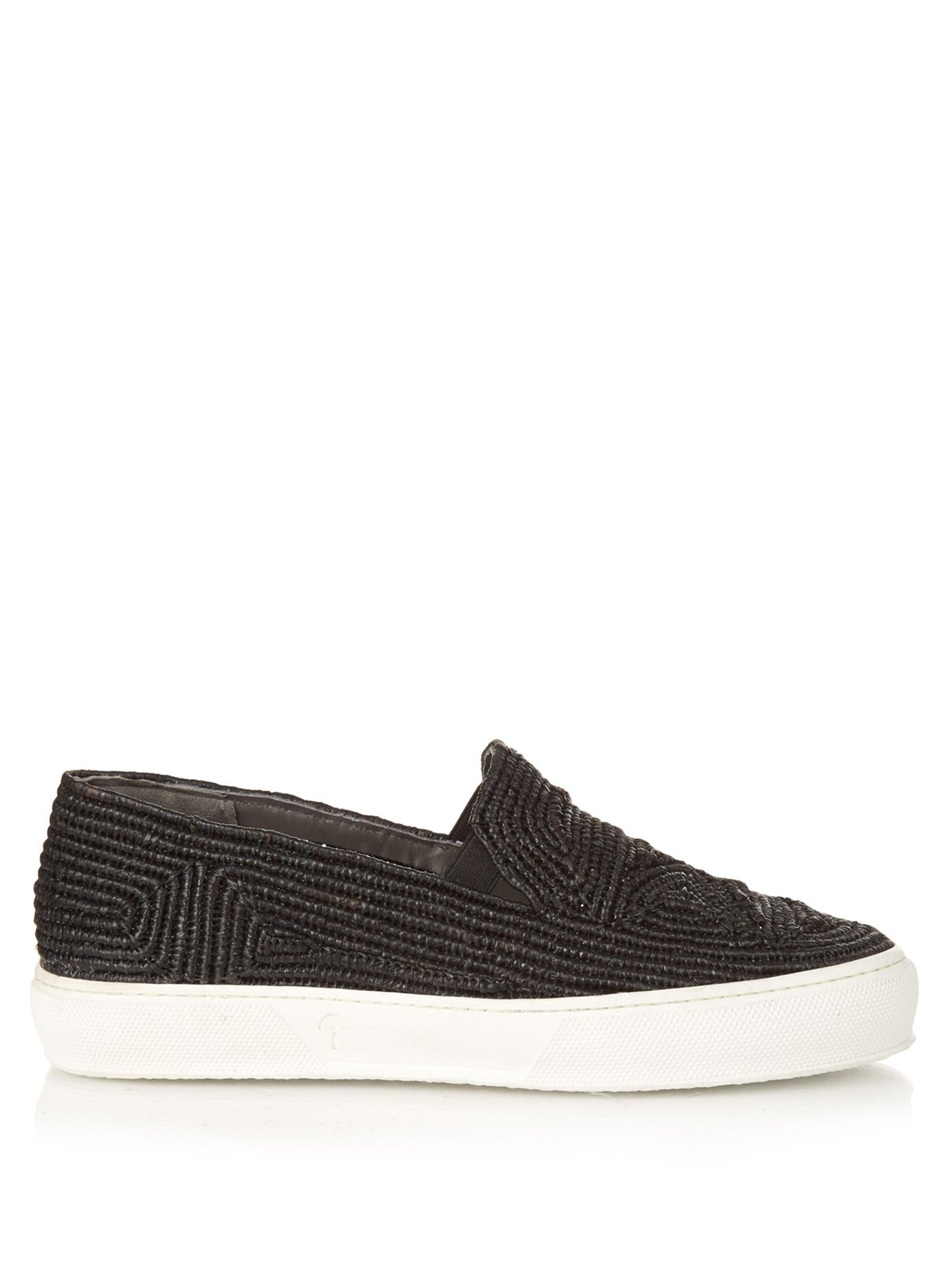 Raffia slip-on trainers | Robert Clergerie | MATCHESFASHION.COM