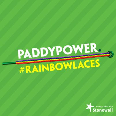 Paddy Power Have Launched The Rainbow Lace S Campaign To Boot