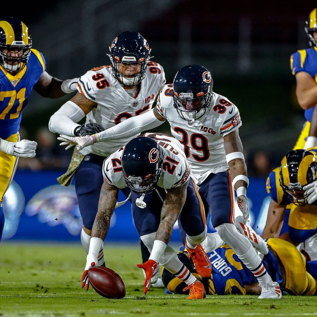 Chicago Bears On Instagram Target Acquired Greg Trott Via Ap Chicago Bears Football Chicago Bears Chicago Sports Teams
