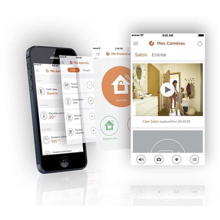 Alarme maison sans fil EVOLOGY Zen série limitée prix promo Leroy
