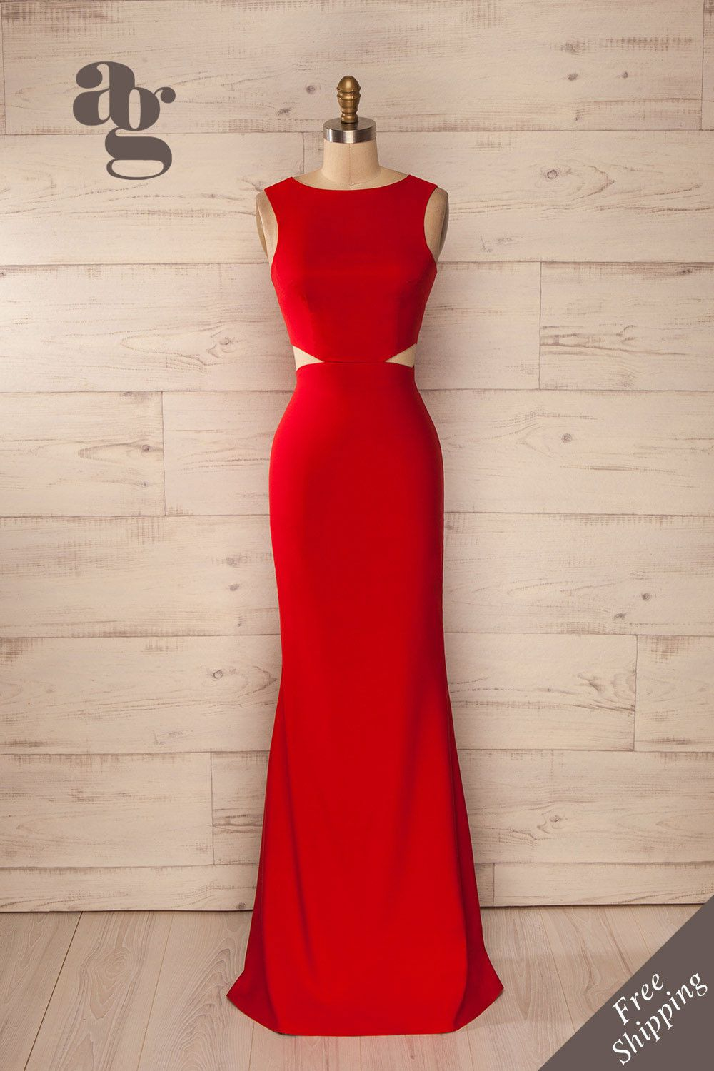 Vallata fraise robe gowns and prom