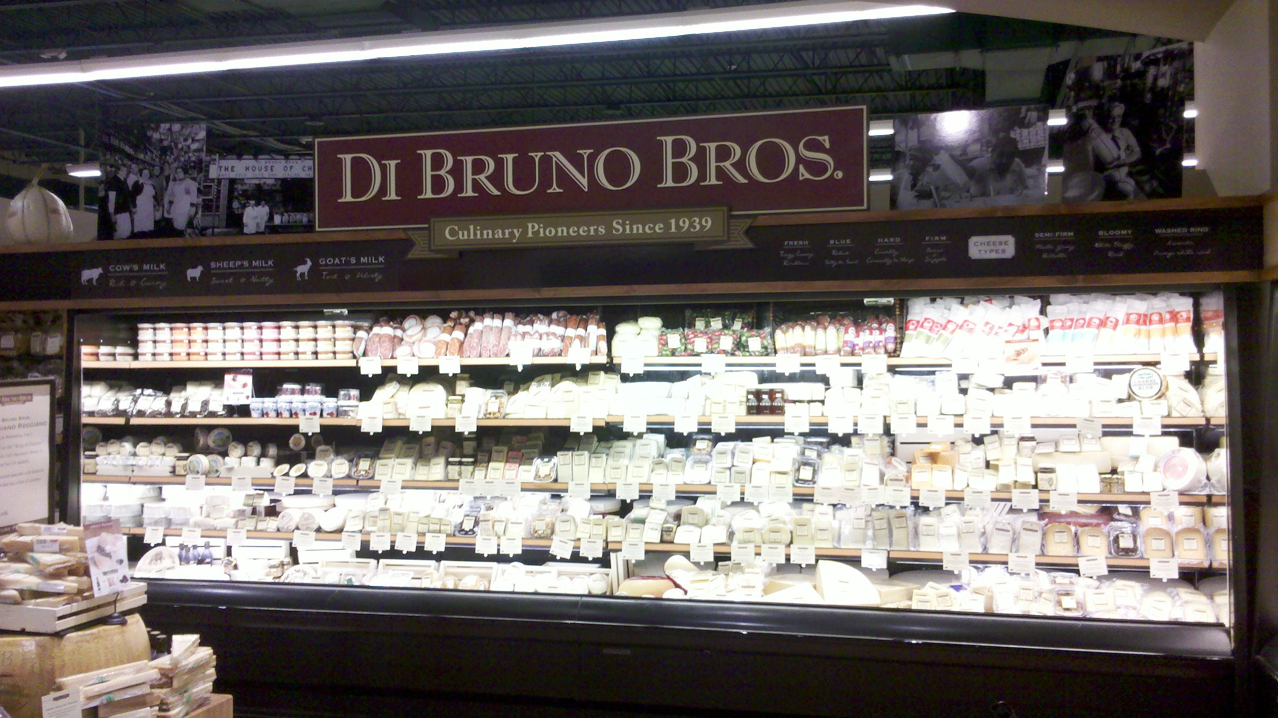 Di Bruno Bros Gourmet Cheeses Meats And More Now Available At The