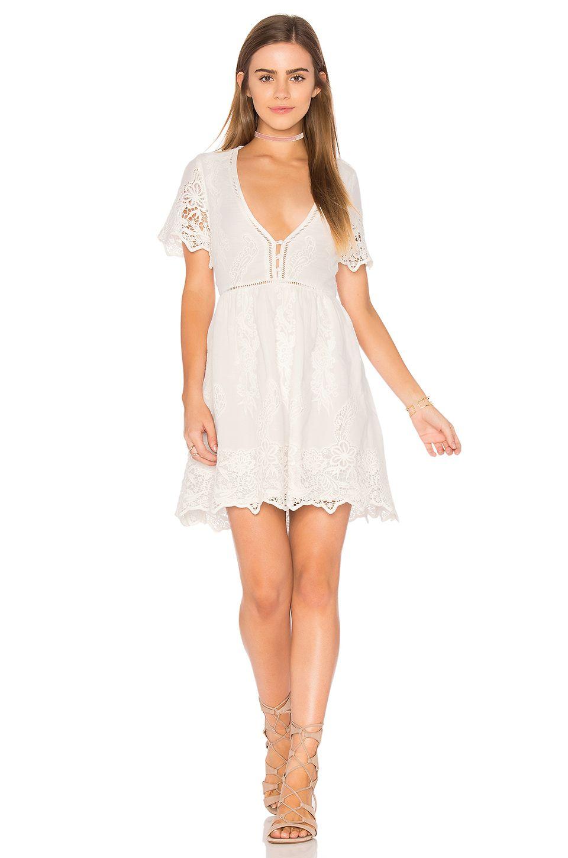 Spell & The Gypsy Collective Magnolia Mini Dress in White | REVOLVE