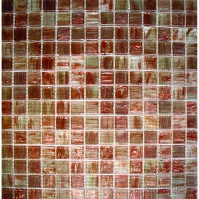 Ms International Light Brown Iridescent 12 In X 4 Mm Gl Mesh Mounted Mosaic Tile At The Home Depot Mobile