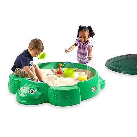 Your Child Will Spend Hours Of Endless Fun In This Turtle Sandbox