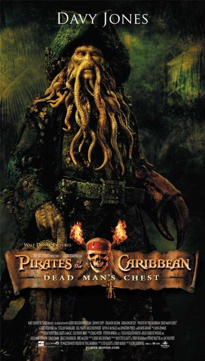 Pirates Of The Caribbean Dead Man S Chest 2006 Davy Jones Pirates Pirates Of The Caribbean Davy Jones