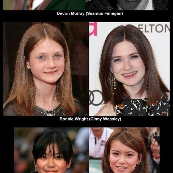 13 Harry Potter Stars Damals Und Heute Frodo Xd Bonnie Wright Ginny Weasley Star Wars
