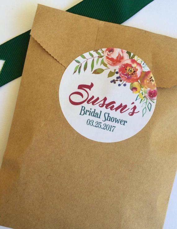 Bridal Shower Fl Stickers Wedding