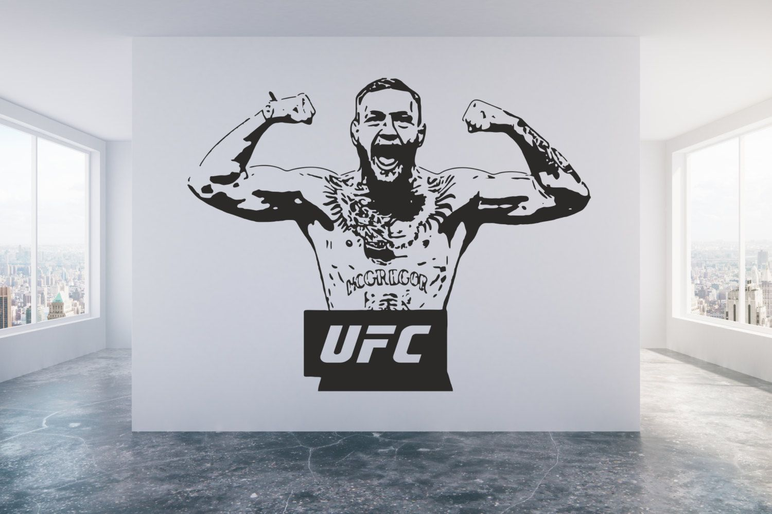 Conor Mcgregor Ufc Champion Cage Fighter Mixed Martial Arts
