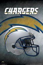 Los Angeles Chargers Helmet Logo Poster 22x34 Nfl Football La 15645 Fiesta Futbol Americano Futbol Americano Nfl
