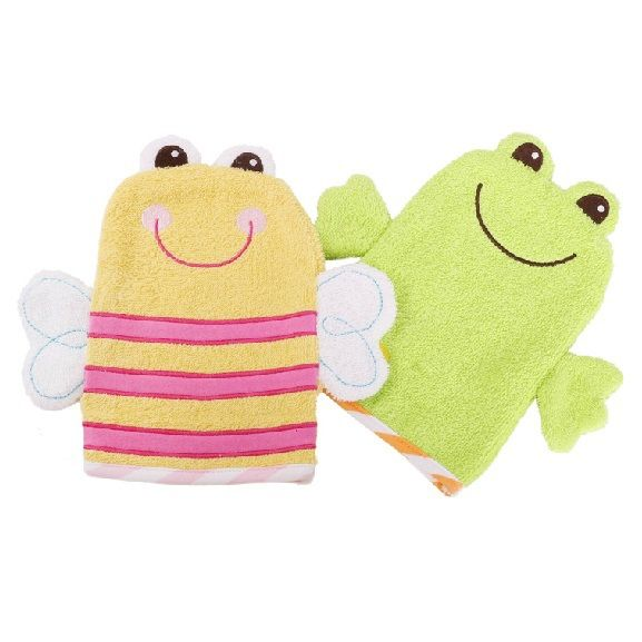 Bath Puppets Bathing Accessories Cheap Sale Dolphin And Fish Wash Mitts Baby