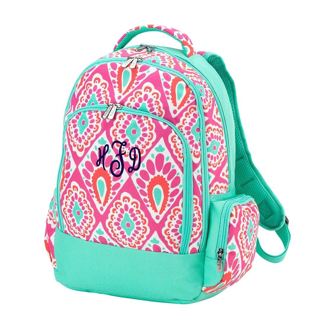 Personalized Backpack Bookbag Kids School Tote Bag   Products ... 77842692c9