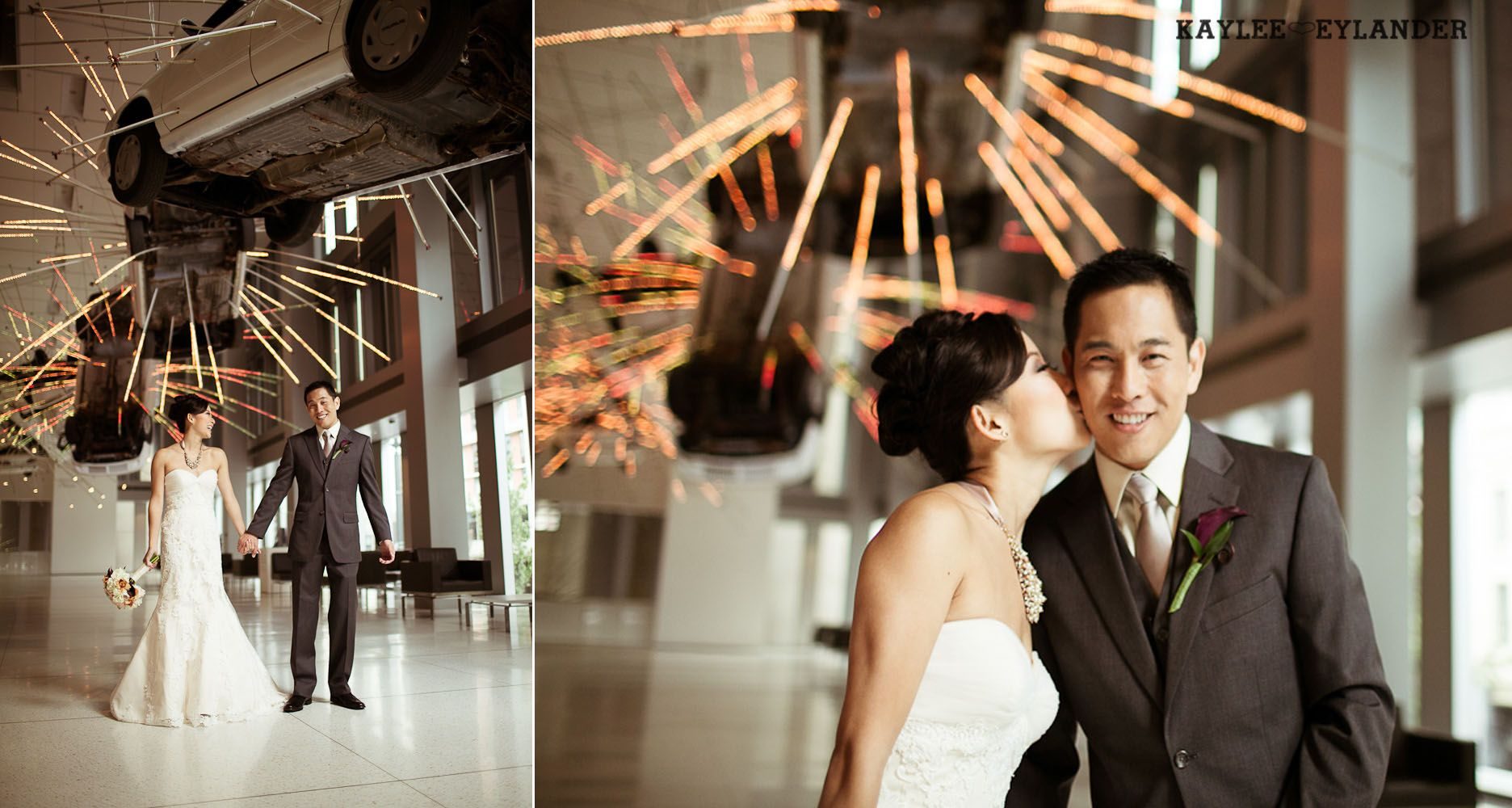 Seattle Art Museum Wedding Kaylee Eylander Photography Downtown