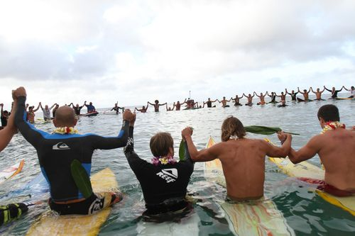 to remember andy irons <3 such a cool memorial