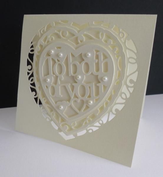 To Both Of You By Sistersandie Cards And Paper Crafts At Splitcoaststampers Stampin Up Wedding Cards Tonic Cards Greeting Cards Handmade