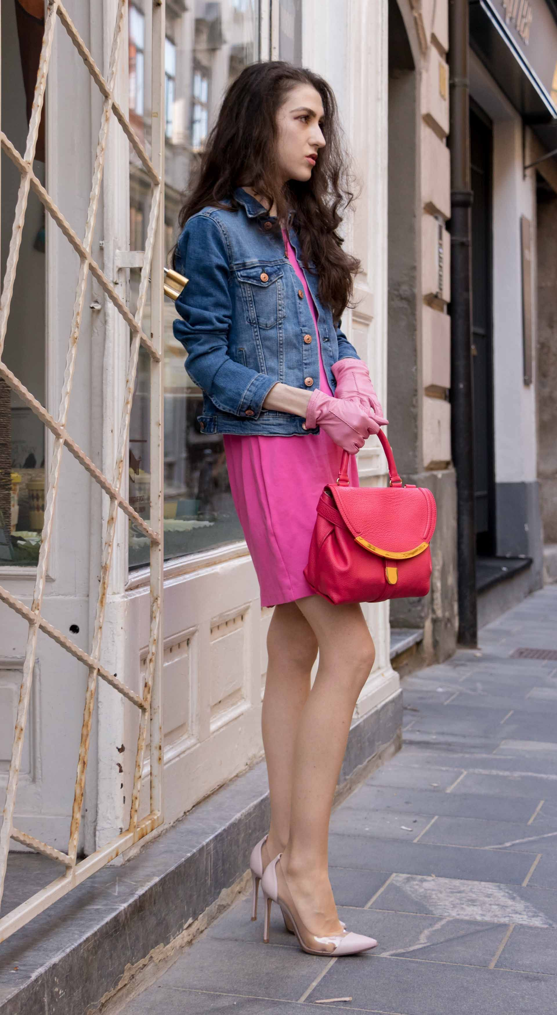 d45620188028 Fashion Blogger Veronika Lipar of Brunette from Wall Street sharing how to  wear cocktail dress by