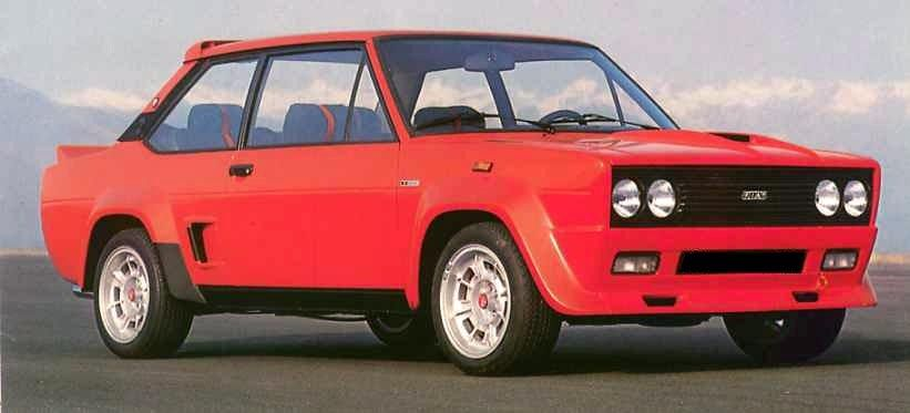 Carsthatnevermadeitetc Fiat 131 Abarth Stradale 1976 An