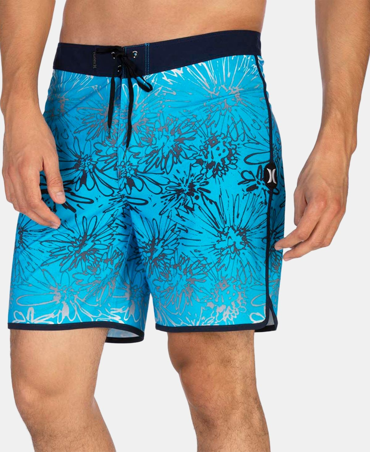 "Hurley Men/'s Phantom Floral 18/"" Boardshorts"