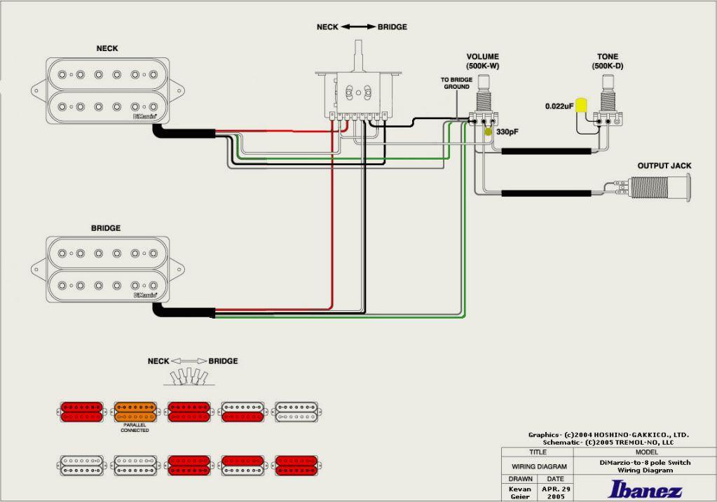 Les Paul Wiring Diagram Dimarzio