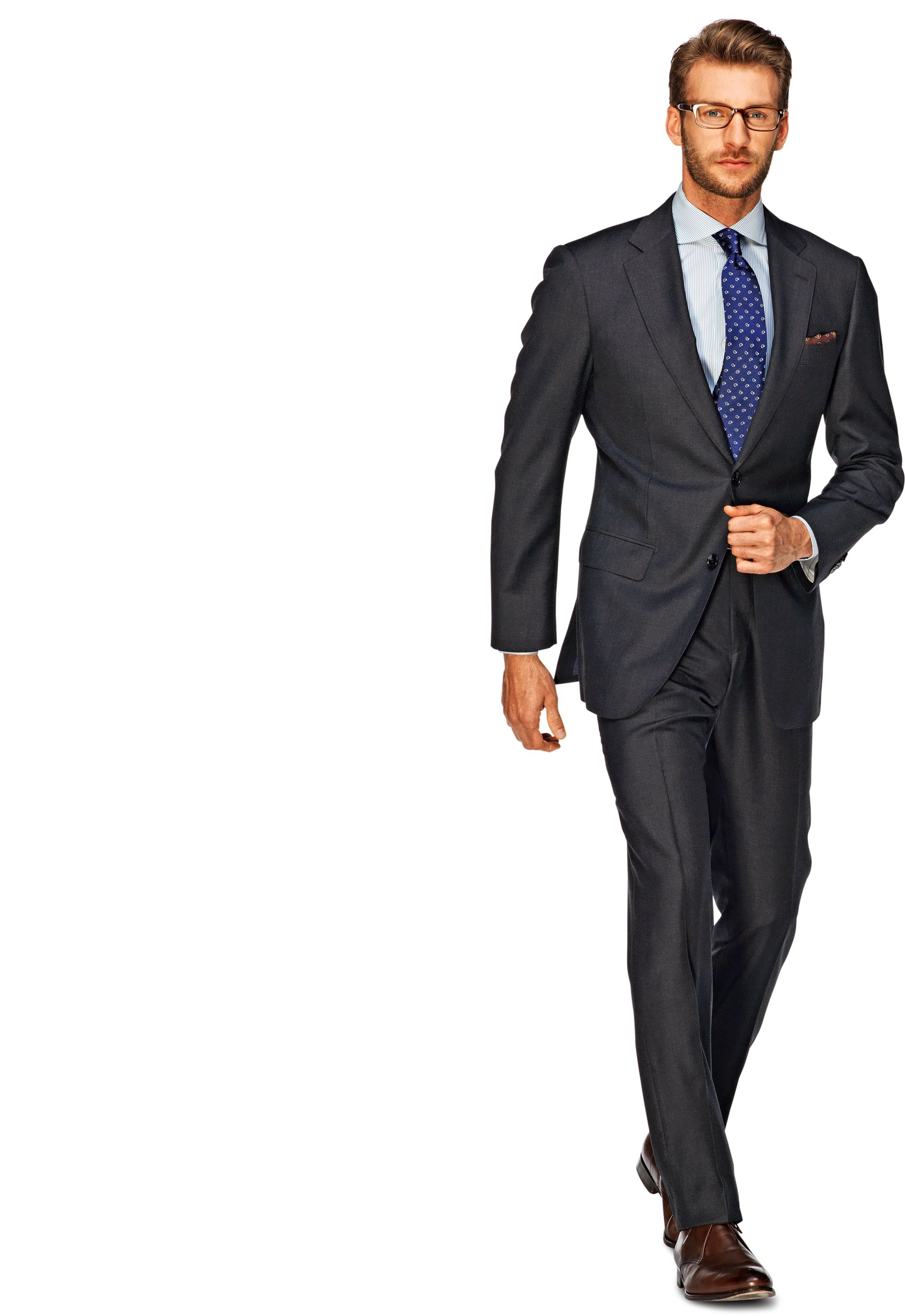 two dupetit button products light tr alain suit gray grey